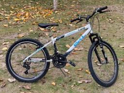Bicicleta BKL ARO 24 com 21 marchas - oportunidade
