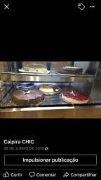 Vitrine modernissima para tortas