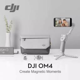 Dji OM4 Osmo Mobile 4 Combo com Case Bolsa Mochila Lacrado Novo Original