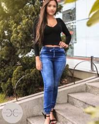 Calças Jogger Jeans Feminino