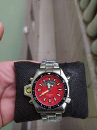 Relógio aqualand linha ouro