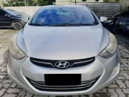 Hyundai - elantra- 1.8- 2011/2011 - prata-  ipva pago - feirão de financiamento.
