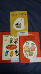 Livros literários do terceiro ano Colégio Medianeira