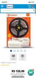 Kit de Fita LED 5 metros Osram Ecokit 4,8W/827 IP20 380Lm/m 110-277V