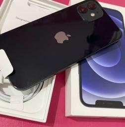 iPhone 12 128G - Preto 1 ano de garantia