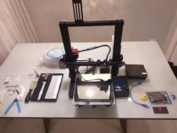 Impressora 3D Ender 3 pouquíssimo uso!!