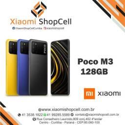 """Celular Xiaomi Poco M3 128Gb Novo e Lacrado """" Somos Loja Física """" Leia o Anuncio """""""