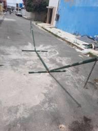 Suporte de rede móvel ferro!