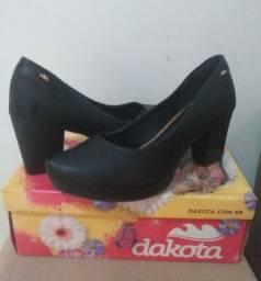 Sapato Dakota preto n° 38