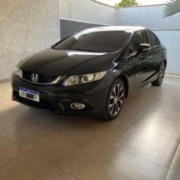 Honda Civic LXR Preto, 2014, 2.0 Flexone, Muito conservado.
