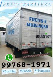 Frete PINHAIS frete Piraquara frete Curitiba