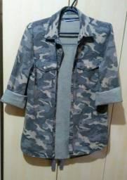 Casaco Militar Feminino Tam: PP