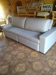 Vende se sofá novo retrátil e reclinavel $ 2900
