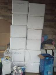 Caixa isopor 100 ltrs