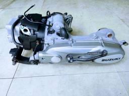 Motor e câmbio Burgman 125i 2012 completo