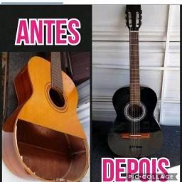 Consertos e reformas de instrumentos musicais