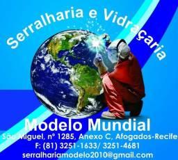 Serralharia Modelo mundial, Recife e região.
