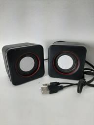 Caixinha de som para notebook e PC
