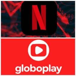 Netflix e globo play
