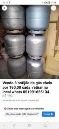 Gas cheio 190 cada