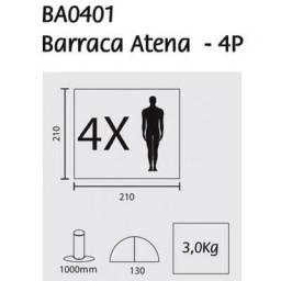 Barraca Guepardo Atena 4