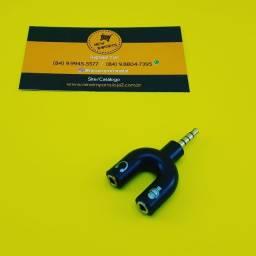 Adaptador P3 ( Celular ) Fone e Microfone