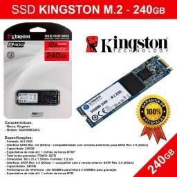Ssd Kingston M.2 - 240Gb - Leitura 500MB/s, Gravação 350MB/s -Novo Pronta - Entrega