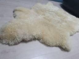 Pelego natural de ovelha - 80x60