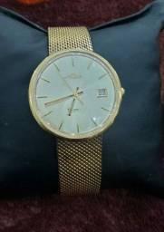 Relógio Mido Ocean Star. Banhado a ouro