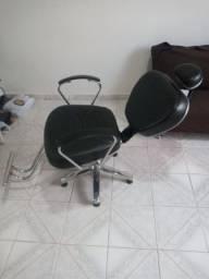 Cadeira reclinável salão ou barbearia