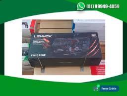 Kit Gamer Headset - Teclado - Mouse e Mouse Pad Lehmox Gt-f1