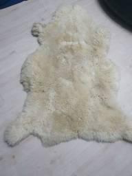 Pelego natural de ovelha. 110x70