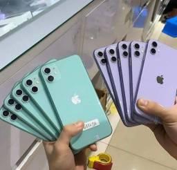 Iphone 11 64 gb temos todas as cores