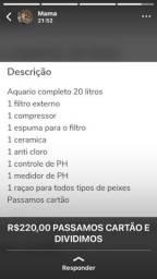 Kit Aquário 20Lts