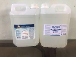 Alcool gel antisseptico 70% Galão 5L