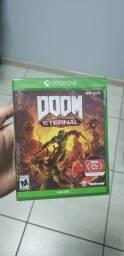Título do anúncio: Mídia Física Original Jogo Game Doom Eternal Para Xbox One
