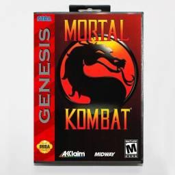 Cartucho Mortal Kombat 1 Mega Drive
