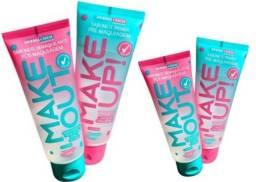 Kit Skin Care Sabonete Make Prime Demaquilante Dermachem Novo