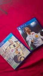 FIFA 17 E 18 PS4
