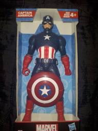 Título do anúncio: Boneco capitão América Hasbro.