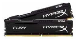 Memória RAM DDR4 HyperX Fury 2x4Gb
