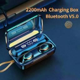 Fone Bluetooth Novo F9 Preto Excelente Qualidade