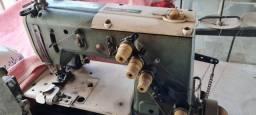 Máquina de Costura Fechadeira Plana Industrial