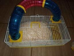 Gaiola de hamster seminova(ler descrição)