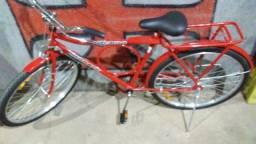 bicicleta nova nunca usada com garupa