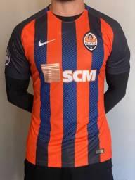 Camisa Shaktar champions League (usada pelo jogador Marlos)
