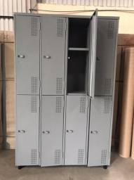 Roupeiro de Aço 8 portas
