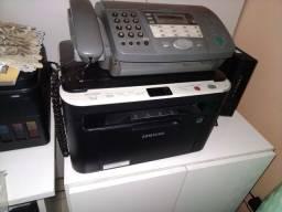 Vendo impressora a laser e fax com secretária eletrônica