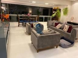 Título do anúncio: Apartamento com 134 m², 3 suítes, sendo 2 com ar condicionado, sala ampla, varanda integra
