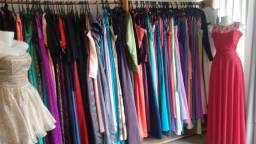 Lote de vestidos de festa